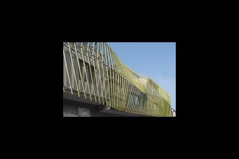 Bamboo cladding